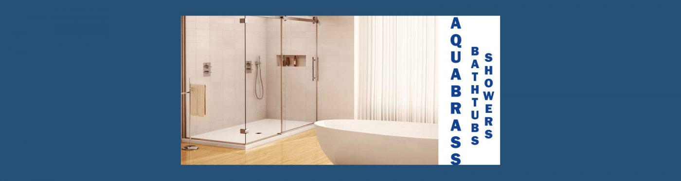 Aquabrass Rain and Thermostatic Showers