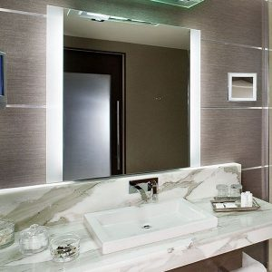 Novo Lighted Mirror By Electric Mirror