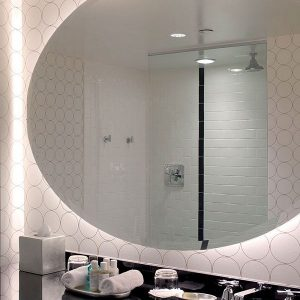 Serenity Lighted Mirror By Electric Mirror