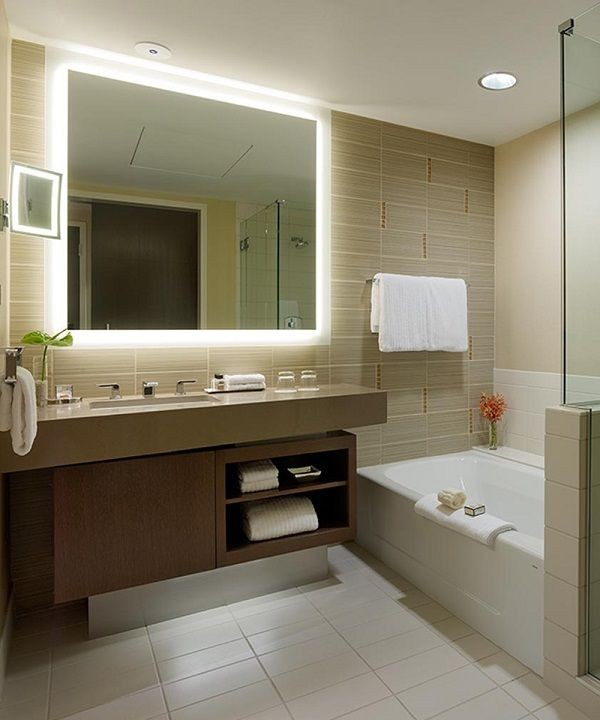 Silhouette Lighted Mirror By Electric Mirror