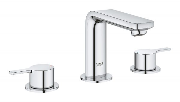 Grohe 2057800A Lineare 8″ Widespread Two-Handle Bathroom Faucet M-Size