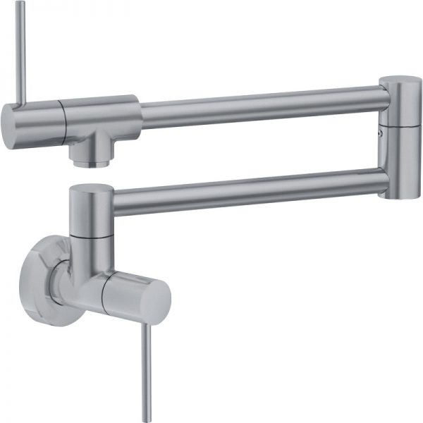 Franke PF4400 Pescara Kitchen Faucet Chrome Satin Nickel