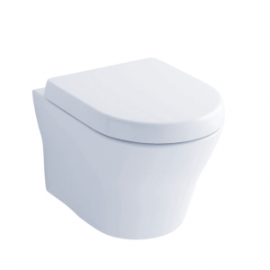 TOTO CT437FG#01 MH Wall-Hung Dual-Flush Toilet