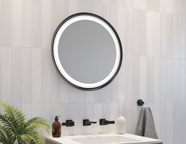 Fleurco MSOR2424 Solis Luna LED Mirror
