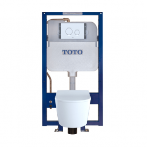 TOTO CWT447247CMFG#WH RP Wall-Hung Toilet & In-Wall Tank System
