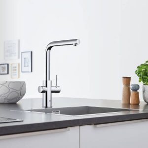Grohe 31608002 Blue Kitchen Faucet Chilled & Sparkling Water StarLight Chrome
