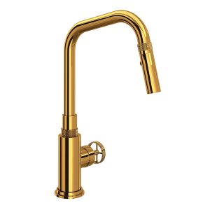 ROHL CP56D1IWIB Campo Kitchen Faucet In Italian Brass