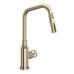 ROHL CP56D1IWSTN Campo Kitchen Faucet In Satin Nickel