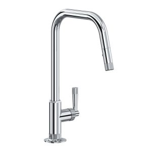 ROHL MB7956LMAPC Graceline Pull-Down Kitchen Faucet In Polished Chrome