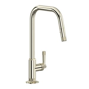 ROHL MB7956LMPN Graceline Pull-Down Kitchen Faucet In Polished Nickel