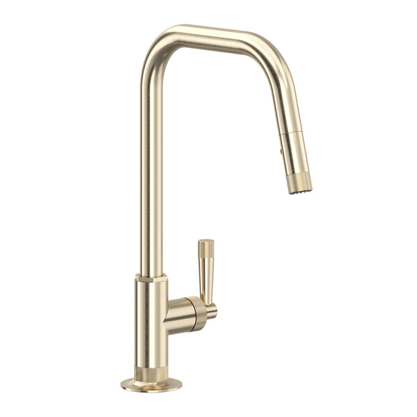 ROHL MB7956LMSTN Graceline Pull-Down Kitchen Faucet In Satin Nickel