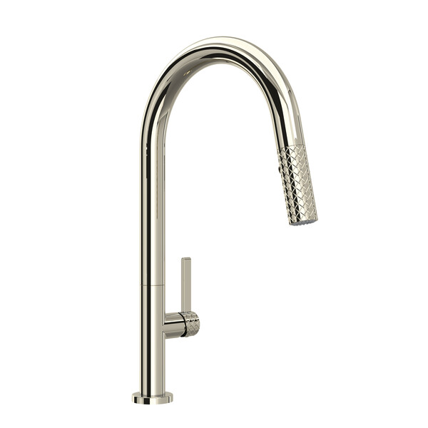 ROHL TE55D1LMPN Tenerife Pull-Down Kitchen Faucet Polished Nickel