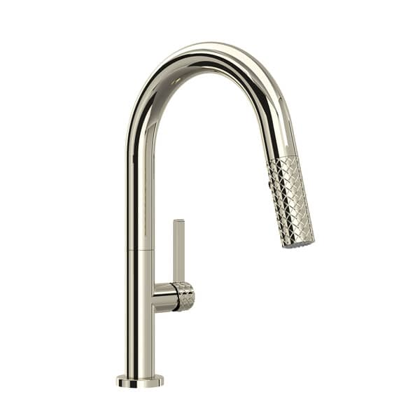 ROHL TE65D1LMPN Tenerife Kitchen Faucet Polished Nickel