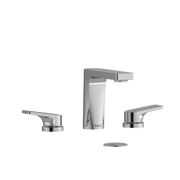 Riobel OD08C ODE 8 Inch Widespread Faucet In Chrome