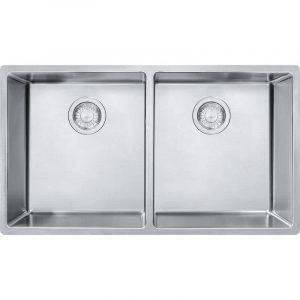 Franke CUX120-CA Cube Undermount Stainless Steel Kitchen Sink