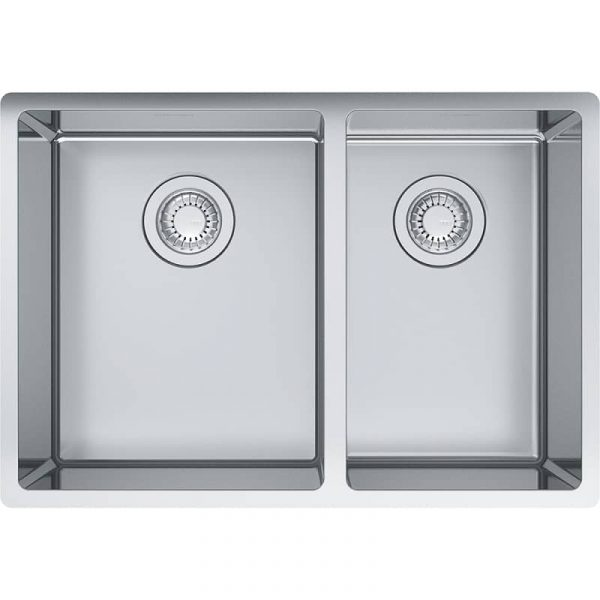 Franke CUX160-24-CA Cube Undermount Stainless Steel Kitchen Sink