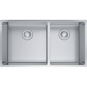 Franke CUX160-32-CA Cube Undermount Stainless Steel Kitchen Sink