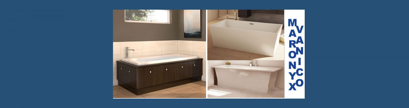Vanico Maronyx Bathtubs and Shower Bases