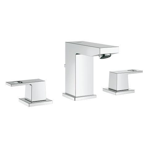 Grohe 20370000 Eurocube Widespread Bathroom Faucet