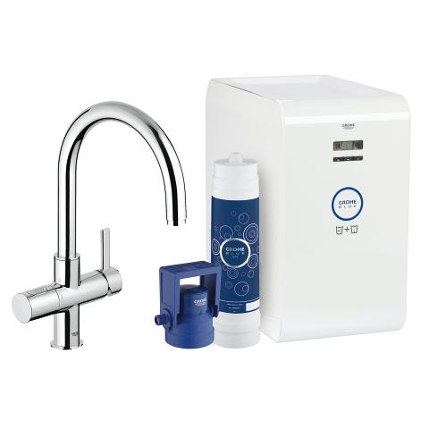 Grohe Blue Chilled Sparkling Dual Function Faucet 31251001/ 31251DC1
