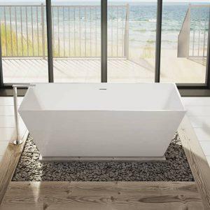 Fleurco Aria BCA6829-18 Calando Grande Bathtub
