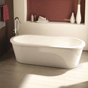 Fleurco BLTR6032-18 Bolero Tranquility Freestanding Bathtub