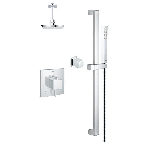 Grohe Modern Square THM Dual Function Shower Kit 118050