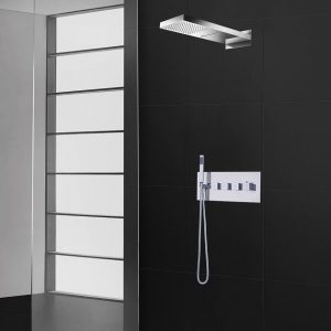 Pierdeco Design Shower Column - PD-830-SQ-KIT-1- AquaMassage