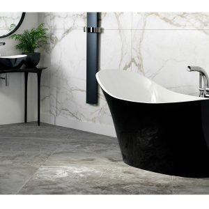 Amalfi tub in black