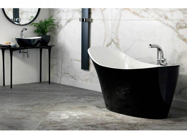 Amalfi tub in black