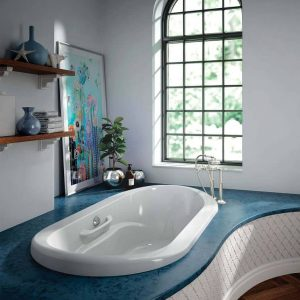 Bainultra Amma oval 7242 drop tub