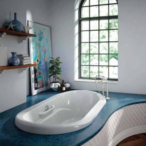 Bainultra Amma oval 7242 drop tub