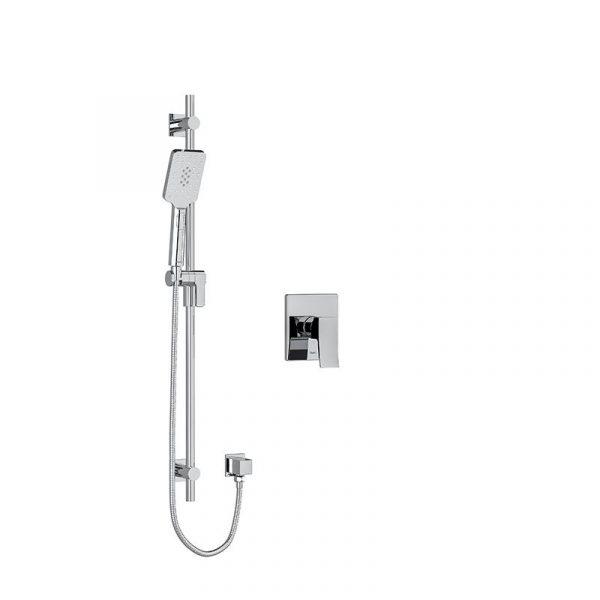 Riobel Zendo ZOTQ54C Chrome Shower Kit