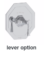 Perrin& Rowe - Concealed thermo shower without flow control - U5157T AND U5158T