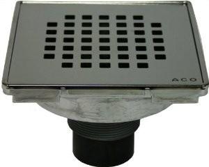 ACO- Quartz Quadrato ShowerPoint Grate-37225