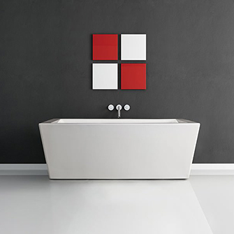 "Azzura-bathtub-Azul 66.5"""