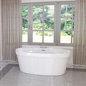 """Azzura-bathtub-Cari 60"""""""