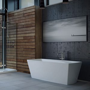 "Azzura-bathtub-Carrera 67"""