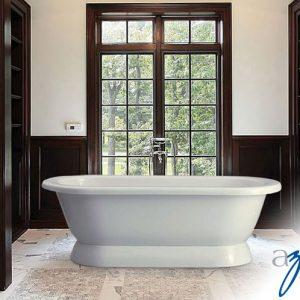 """Azzura-bathtub-Chari 74"""""""