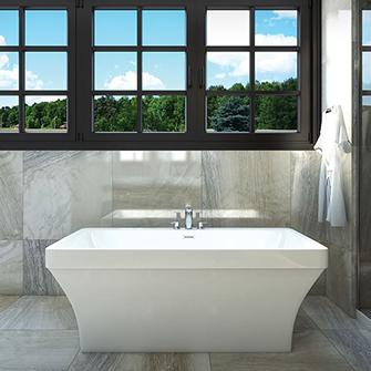 "Azzura-bathtub-Cruz 60"""