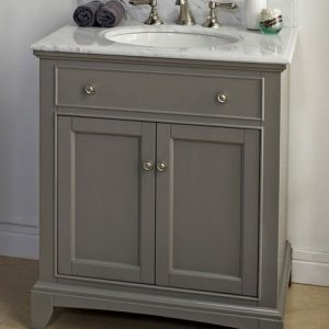 "Fairmont Designs Smithfield 30"" Vanity - Medium Gray"
