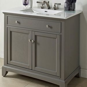 "Fairmont Designs Smithfield 36"" Vanity - Medium Gray"