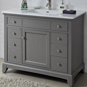 "Fairmont Designs Smithfield 42"" Vanity - Medium Gray"