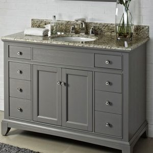 "Fairmont Designs Smithfield 48"" Vanity - Medium Gray"