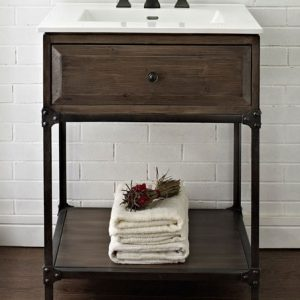 "Fairmont Designs Toledo 24"" Open Shelf Vanity"