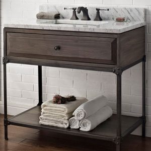 "Fairmont Designs Toledo 36"" Open Shelf Vanity"