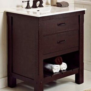 "Fairmount Designs Napa 30"" Open Shelf Vanity"