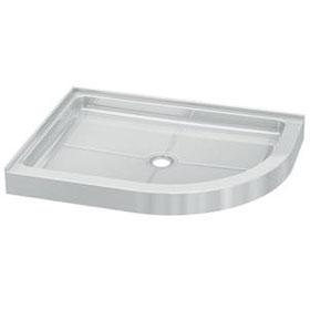 Fleurco Shower Base Half round Acrylic Shower Base