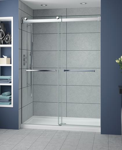 Fleurco Shower Door Gemini ByPass Plus