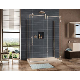 Fleurco Shower Door Kinetik Three Sided KS